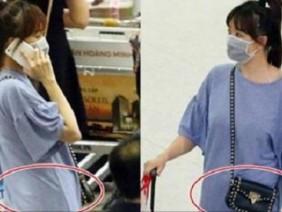 Lộ vòng hai to bất thường, Hari Won bị nghi vấn có thai?