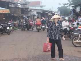 Nan giải chợ nông thôn mới