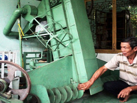 Lão nông học hết lớp 6 vang danh khắp nơi nhờ sáng chế nông cụ