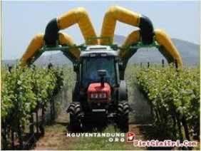 Những máy thu hoạch nông nghiệp hiện đại nhất