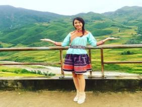 Hoa hậu Mỹ Linh quảng bá vẻ đẹp Sa Pa mùa thu