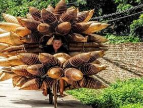 Vẻ bình dị của làng đan đó hơn 200 tuổi quyến rũ trong nắng thu