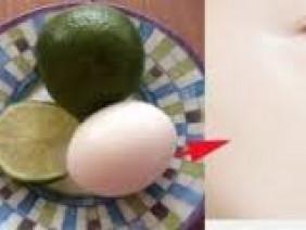 Cách làm trắng da mặt trong 15 phút của người Hàn chỉ cần 1 quả chanh và 1 quả trứng