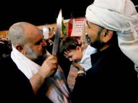 Bạn sẽ khóc thét nếu đi lễ hội rạch đầu trẻ con của người Hồi giáo