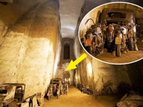 Khám phá bí ẩn bên trong đường hầm bị lãng quên, bước vào ai nấy đều kinh ngạc