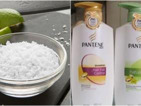 Gội đầu với muối và dầu gội thường 10 phút, kết quả sau đó sẽ khiến bạn bị sốc