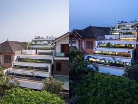 Xây vườn bậc thang trên mái, ngôi nhà Hà Tĩnh nổi bật trên tạp chí ngoại