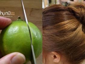 Nhuộm tóc nâu vàng cực đẹp chỉ với một quả chanh, không cần thuốc nhuộm độc hại