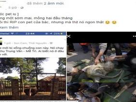 Sự thật về việc 'soái ca' đà điểu chạy trên đường quốc lộ và bị làm thịt ở Hà Nội