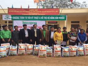 Tiến Nông triển khai chương trình tư vấn kỹ thuật và hỗ trợ nông dân nghèo tại Thanh Hóa