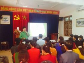 Huyện nhà Phú Bình (Thái Nguyên) đồng hành cùng Tiến Nông triển khai hệ thống đại diện chính hãng