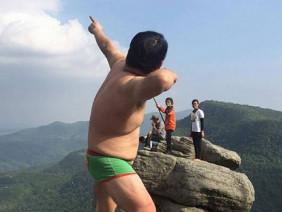 Chàng trai chụp ảnh phản cảm ở Quảng Ninh bị dân mạng