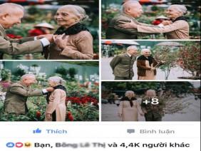 Bộ ảnh Ông bà đi chợ Tết: Bao trái tim người trẻ phải xúc động nghẹn ngào