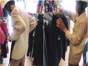 Người đàn ông nghèo khiến chủ cửa hàng thời trang xúc động bởi một câu nói