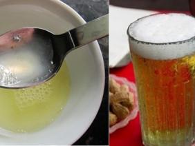 Trộn bia tươi với nước cốt chanh, nốt mụn cứ thế mờ dần, da trắng hồng luôn căng mịn