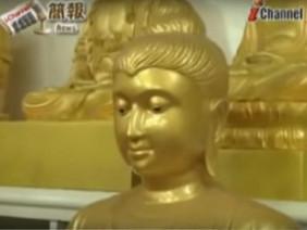Tượng Phật bất ngờ mở mắt cười nói suốt 1 giờ khiến nhiều người sửng sốt