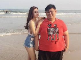 Cặp đôi chênh nhau gần 100kg khoe ảnh tình yêu khiến dân mạng