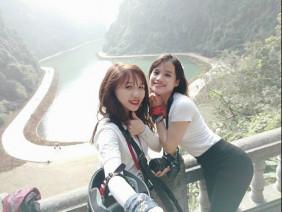 Hai cô gái gây tranh cãi với hành trình phượt Sài Gòn – Hà Nội bằng xe máy trong 40 tiếng