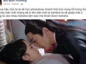Lỡ miệng nói muốn được photoshop ảnh với sao Trung, Bích Phương được cư dân mạng giúp đỡ và cái kết