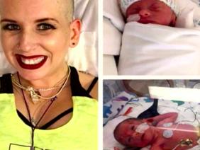 Người mẹ 2 lần ung thư - đánh cược mạng sống của mình để sinh con