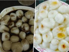 """""""Siêu phẩm"""" bánh trôi nát của các chị em trong ngày Tết Hàn thực"""