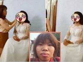 Lộ ảnh cưới với dung mạo cực sốc của bà mẹ đơn thân Đắk Nông từng bị chê bai nhan sắc