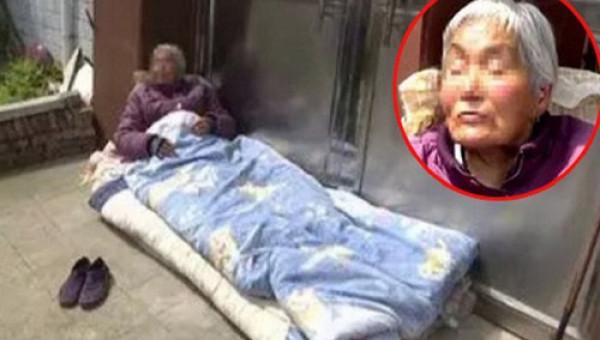 Chỉ vì mâu thuẫn tiền bạc, con trai và con dâu nhẫn tâm đuổi mẹ già ra đường ngủ suốt nhiều ngày