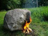 Bí ẩn hòn đá tự phát ra Wifi khi đốt nóng gây sốt