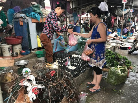 Hà Nội: Chuyện lạ ở một khu chợ