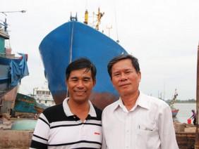 Từ Hồng Kông (Trung Quốc) quay về, lão ngư phấn đấu lên giám đốc