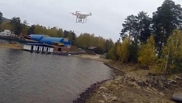 Độc đáo công nghệ đỉnh cao dùng máy bay không người để câu cá