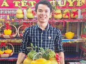 Hàng độc, lạ Tết: Heo trà, muối Hymalaya… đắt khách