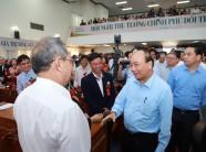 Trực tiếp: Thủ tướng đối thoại với nông dân